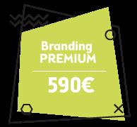 branding premium