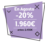 agosto -20% en e-commerce