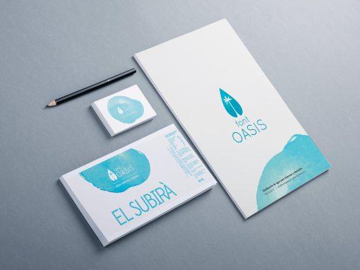 Font Oasis – Diseño Web + rotulación de furgoneta