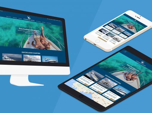 Internautic Yachts – Diseño Web