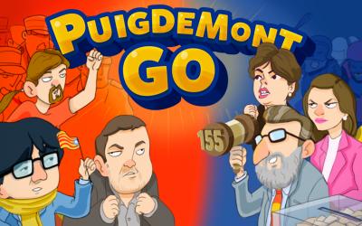 Puigdemont Go!, un juego desarrollado en Mallorca